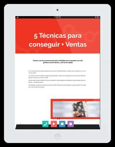 iPad con Pasa a la Acción #02