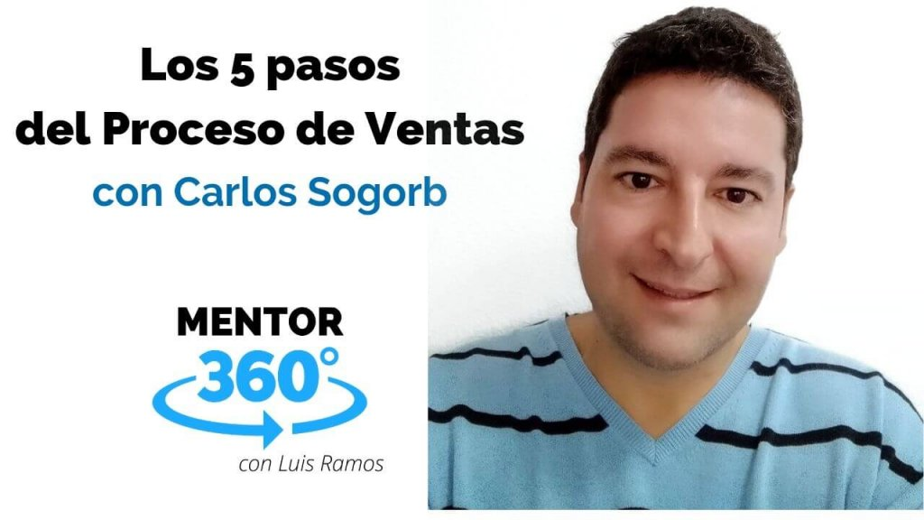Los 5 Pasos del Proceso de Ventas, con Carlos Sogorb - VENTAS - MENTOR360