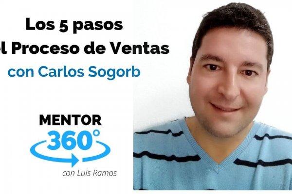 Los 5 Pasos del Proceso de Ventas, con Carlos Sogorb | MENTOR360