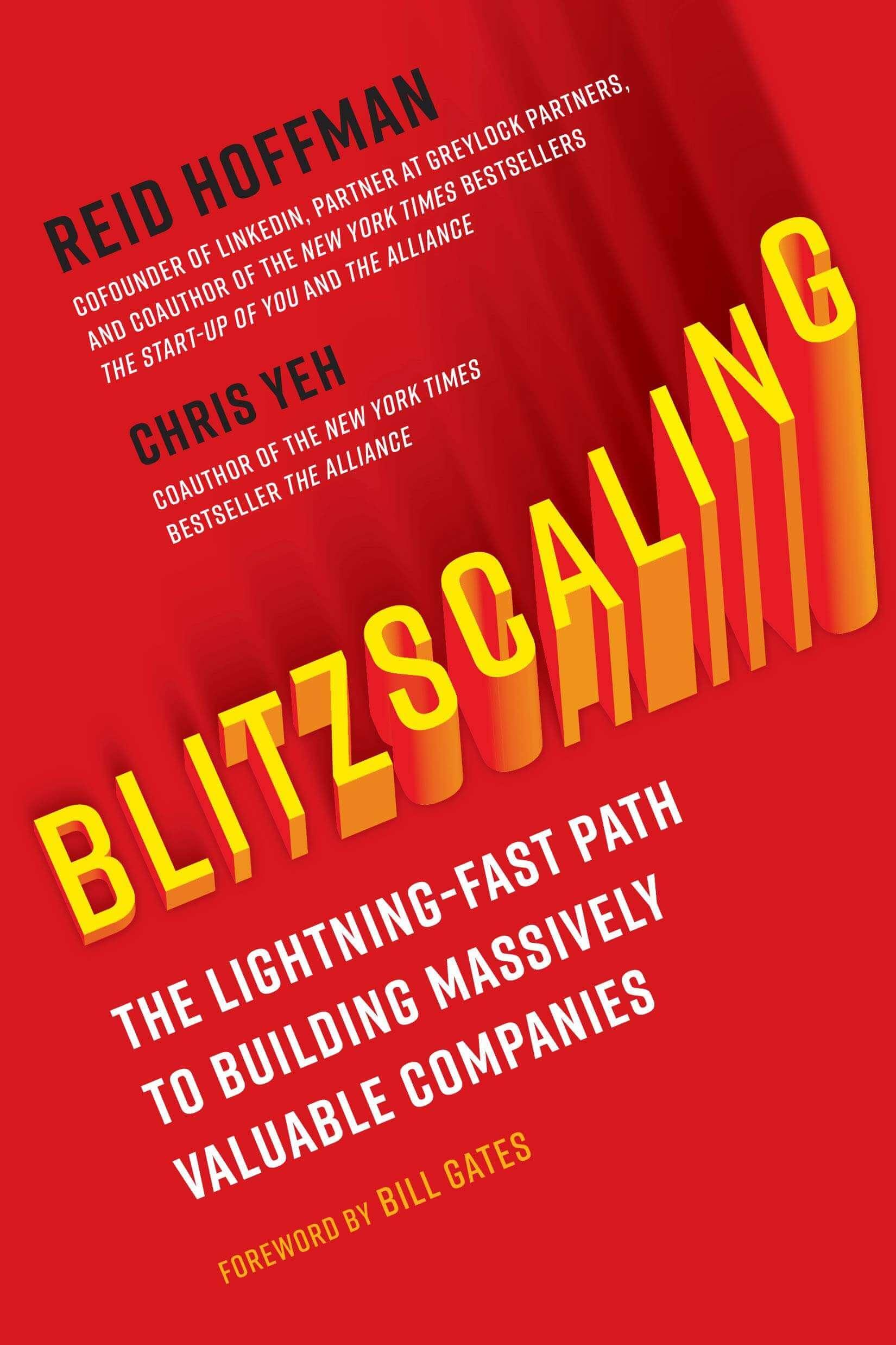blitzscaling - libros para emprendedores